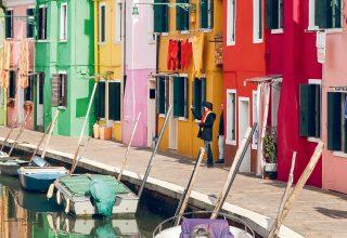 De eilanden Burano, Torcello & Murano