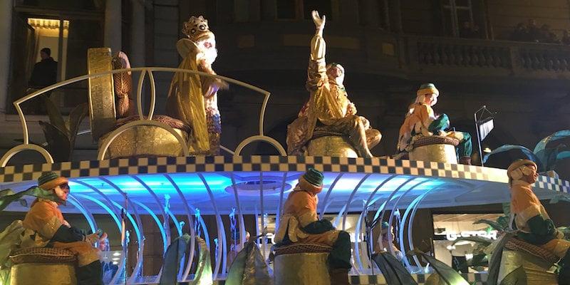 Optocht driekoningen Barcelona