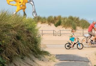 Vlaamse kust fietsroute