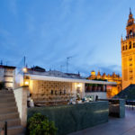 dakterrassen in Sevilla