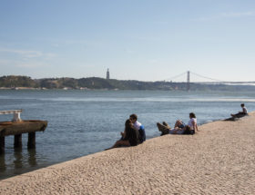 flaneren in Lissabon