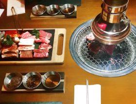 Praag Traditionele Koreaanse barbecue yuniku