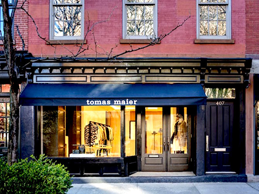2e boutique winkel tomas maier new york