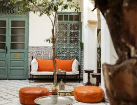 Riad Orange patio