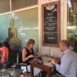 vegetarisch eten Lido van Venetie