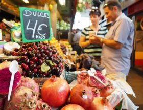 Málaga markt in Málaga