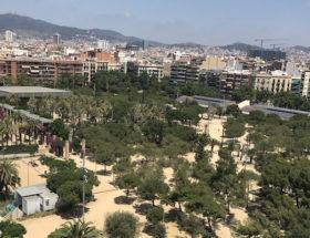 Parc Joan Miro in Barcelona