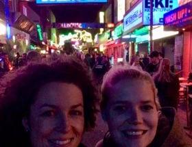 typisch Hamburgse selfie spot Grosse Freiheit Reeperbahn Beatlesplatz