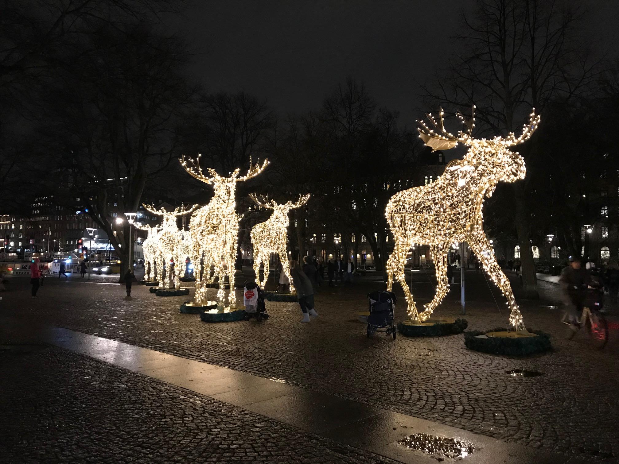 Gezelligheid december in Stockholm