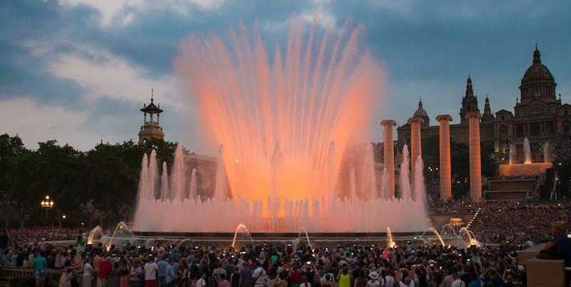 fonteinshow barcelona