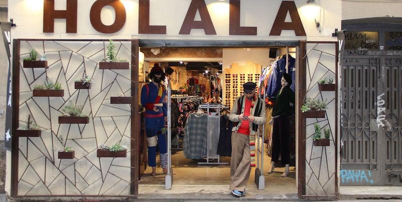 vintage winkelen in El Raval