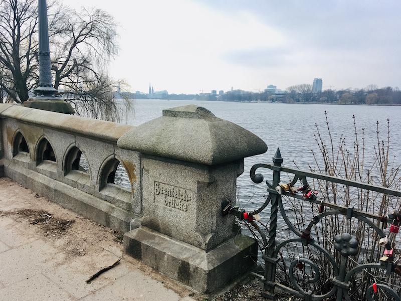 Meest romantische plek van Hamburg