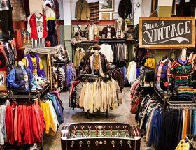 vintage shoppen Londen