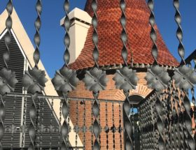 modernistische gebouwen in Barcelona