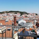 rooftops in lissabon