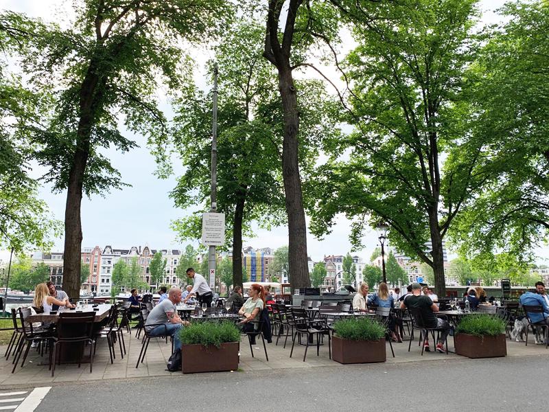 Verborgen terrassen in Amsterdam