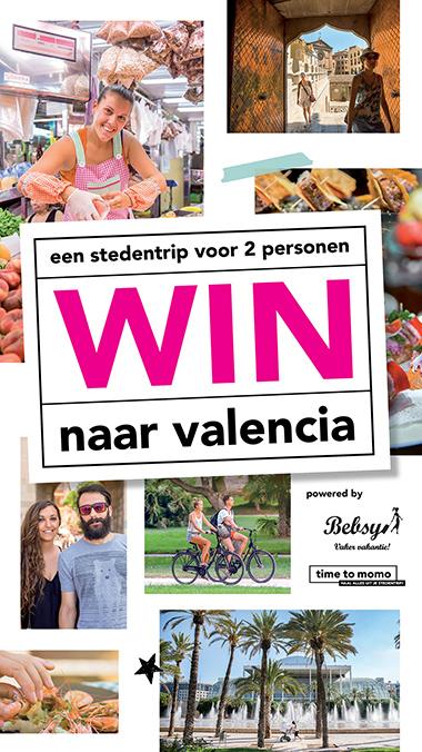 Win een stedentrip naar Valencia - site