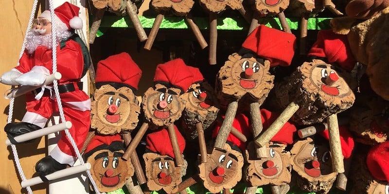 kerstmarkt in barcelona