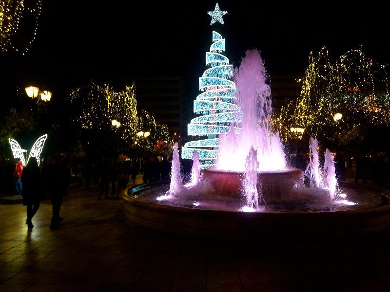 kersttijd in Athene