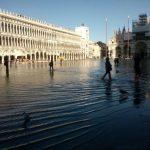 hoogwater in Venetië