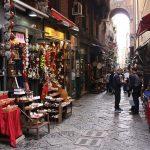 kerstmarkt in Napels