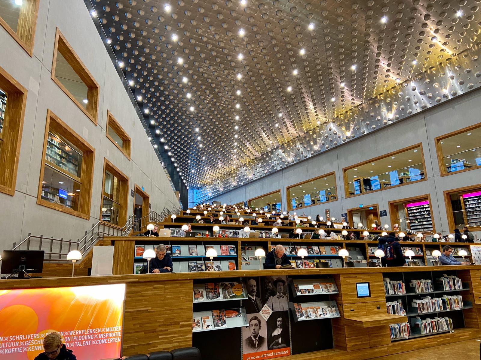 Bibliotheek Eemland. Foto: Ingelise de Vries