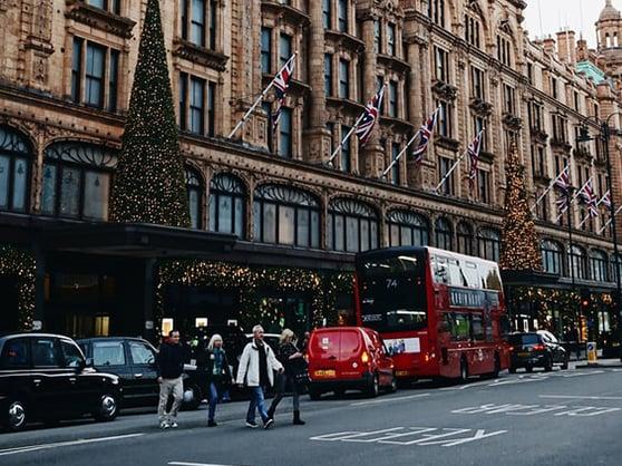 Harrods Londen warenhuis