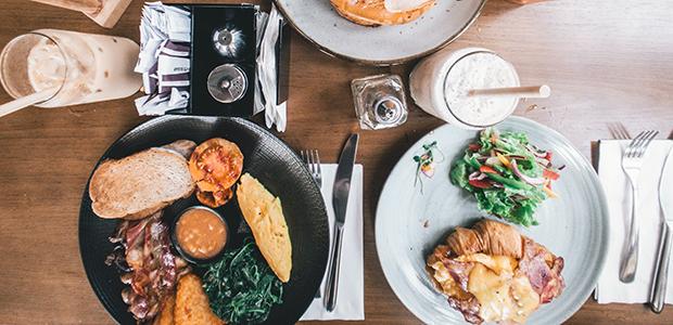 ontbijt in Londen