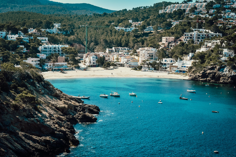 Cala Vadella vakantie Ibiza