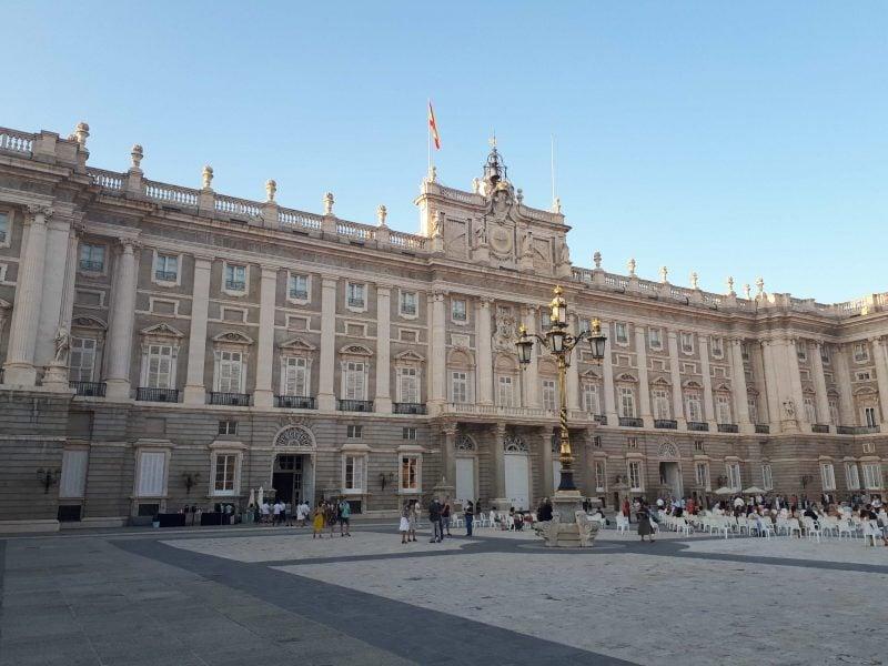 Madrid El Palacio Real de Madrid