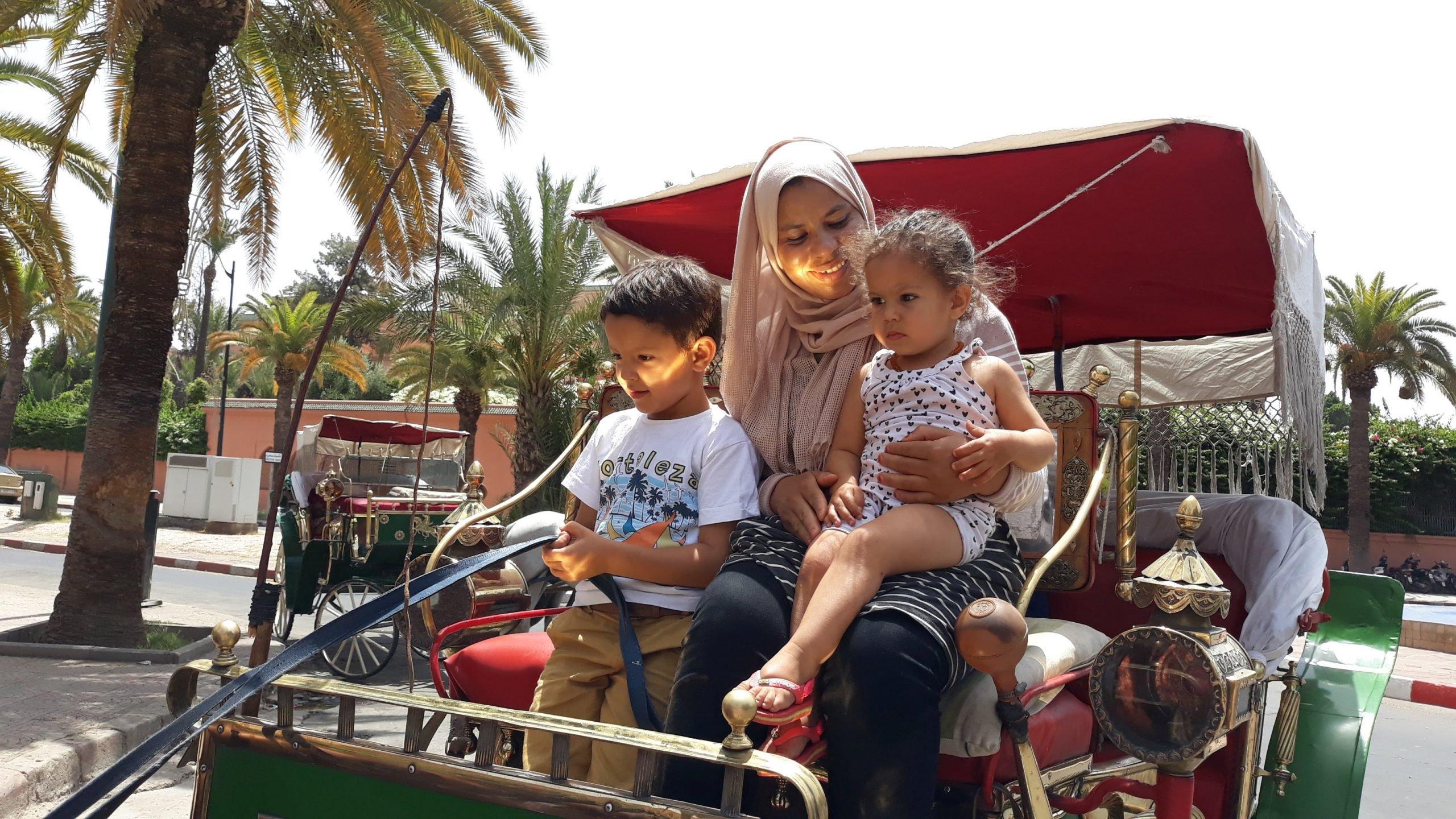 Koetsje in Marrakech