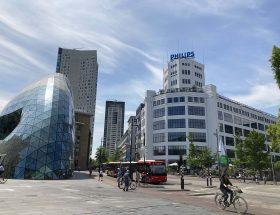 Philipshistorie en moderne architectuur in Eindhoven