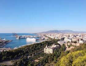 Málaga in oktober