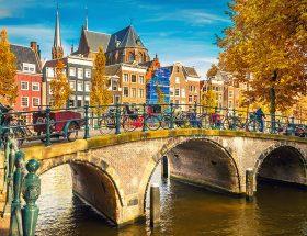 Herfst in Amsterdam