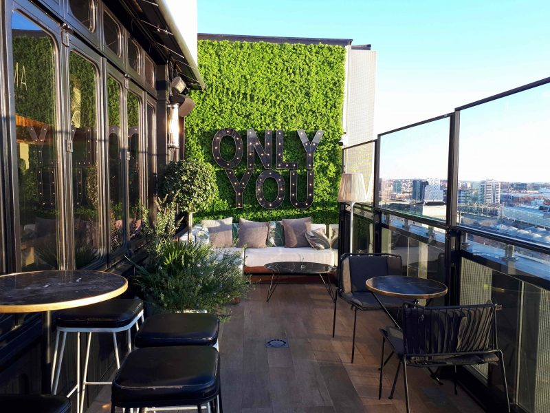 bucketlist 2021 hotel met goed restaurant Madrid