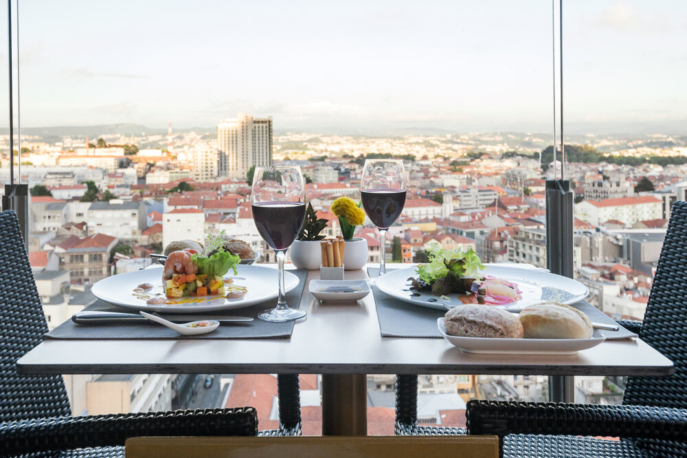 Hotel met goed restaurant Porto