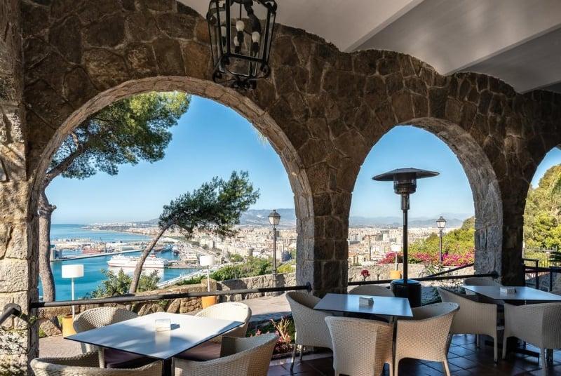 Hotel met goed restaurant in Málaga