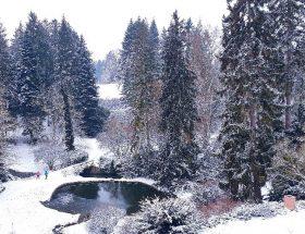 Praag wandeling park kasteel Pruhonice