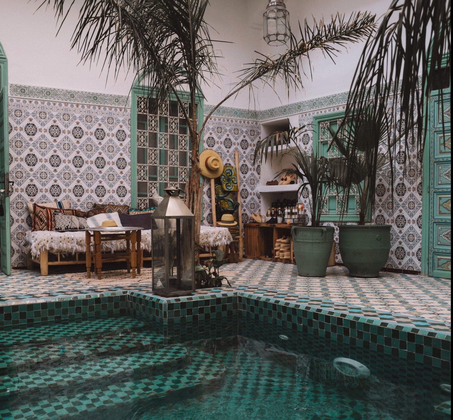 hotel met zwembad in marrakech