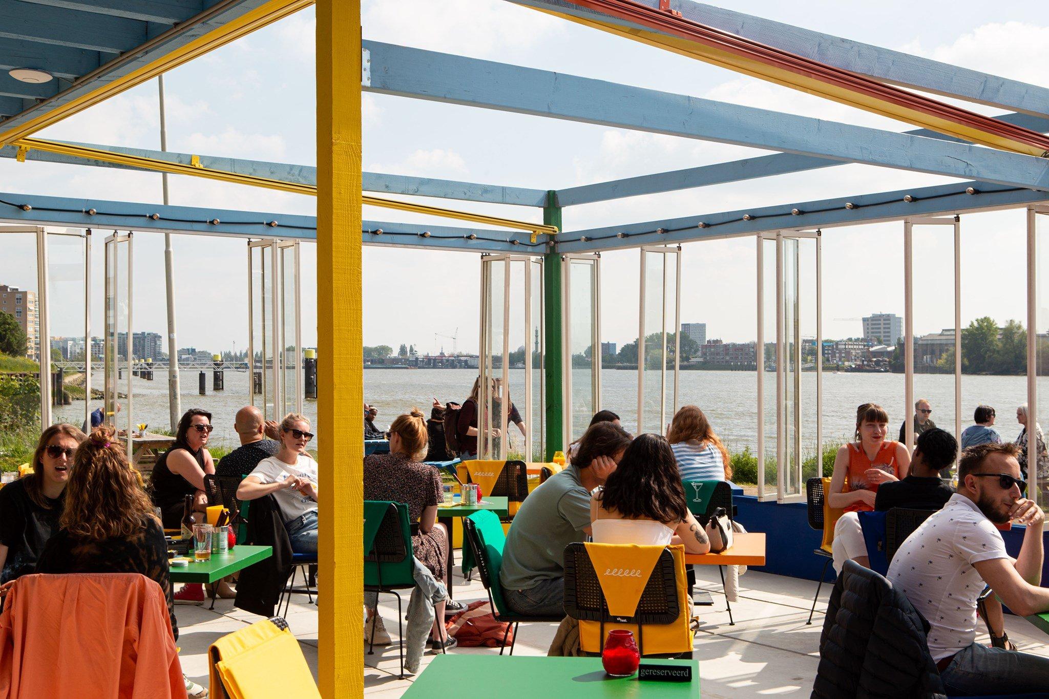 Terrassen in Rotterdam