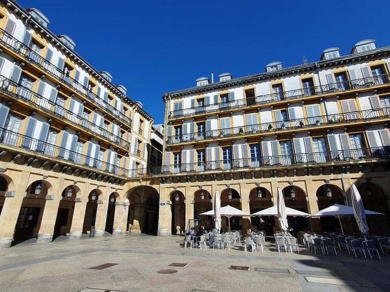 Terrassen van San Sebastián