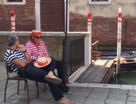 terrassen in venetië