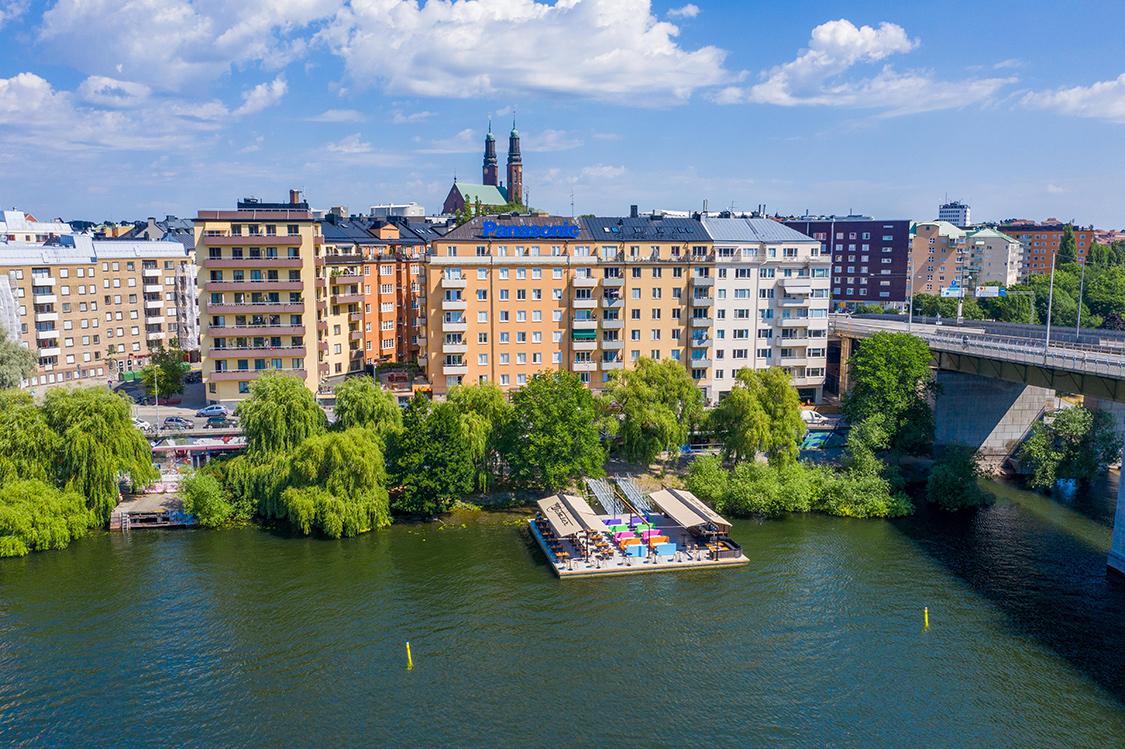 terrassen van Stockholm