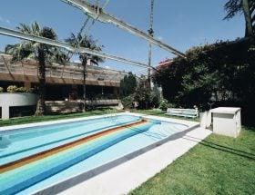 zwemmen in Lissabon