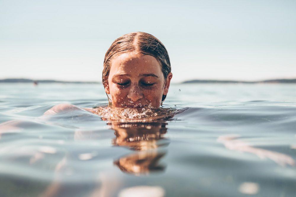 zwemmen in porto