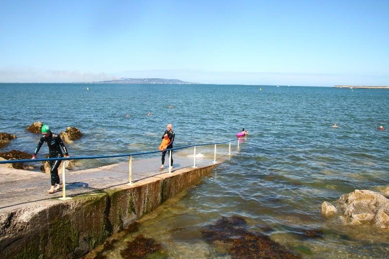 Zwemmen in Dublin, waag een duik in het koele water.