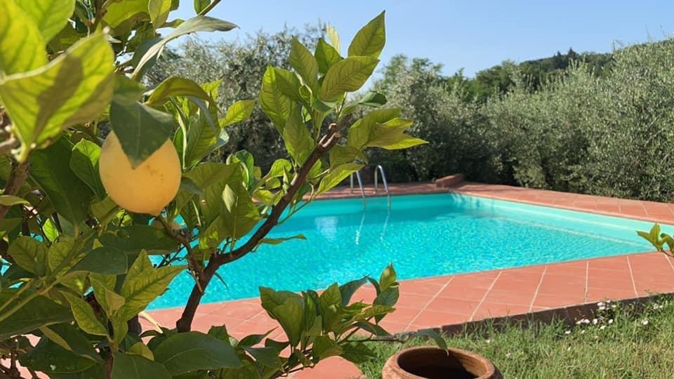 zwemmen in Toscane