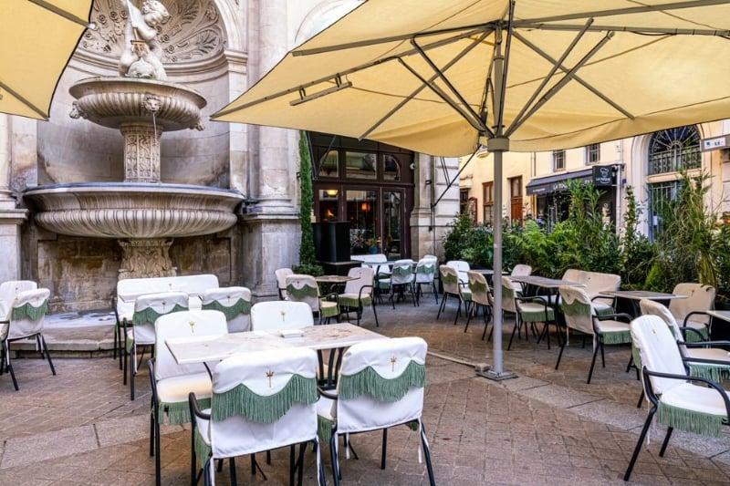 terrassen van parijs