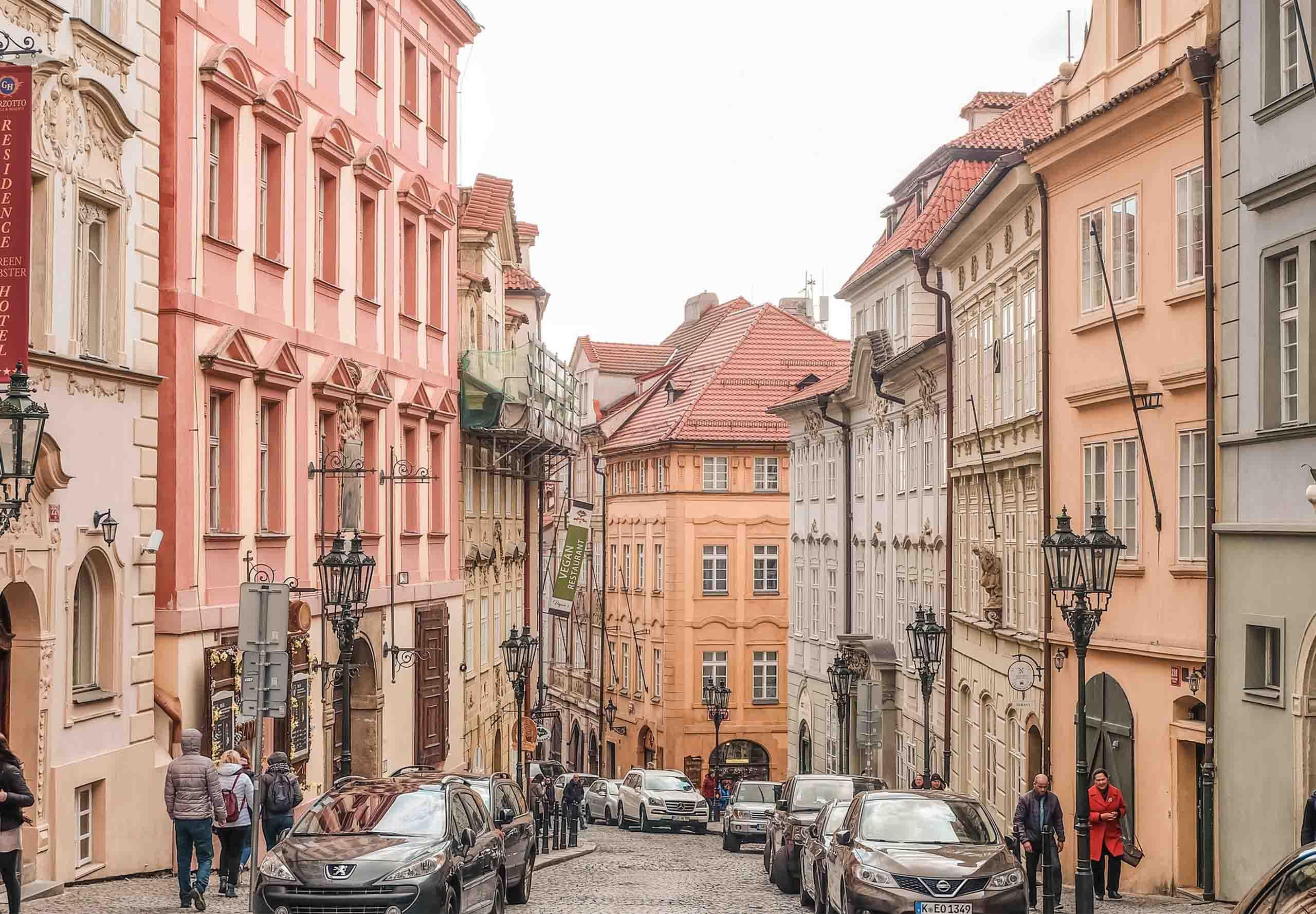 stedentrip met de trein Praag